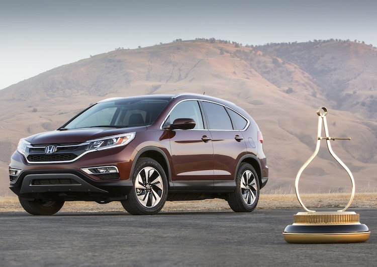 2015 Honda CR-V Awards