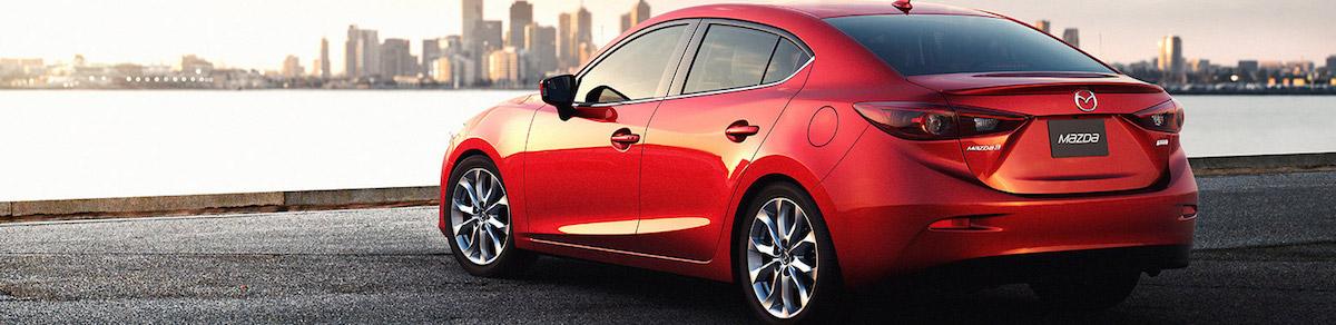 2015 Mazda 3 - Rear