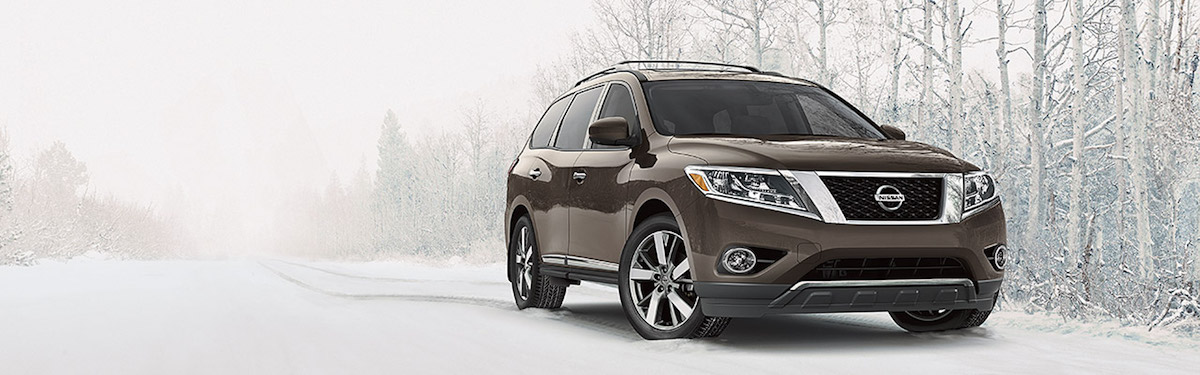 2015 Nissan Pathfinder Snow