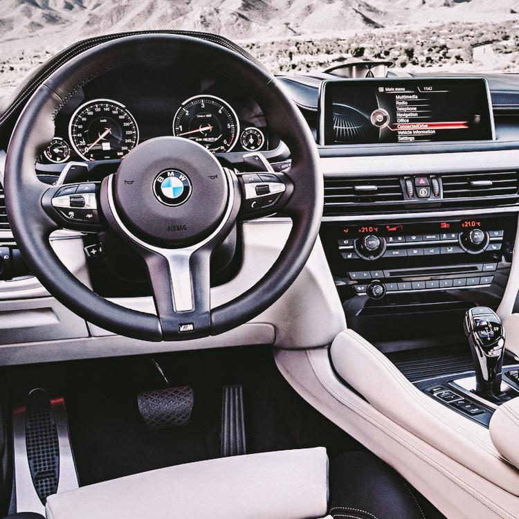 2015 BMW X6 - Interior