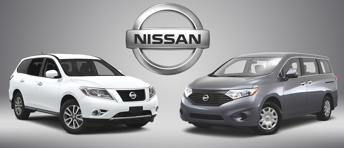 Nissan Quest and Pathfinder