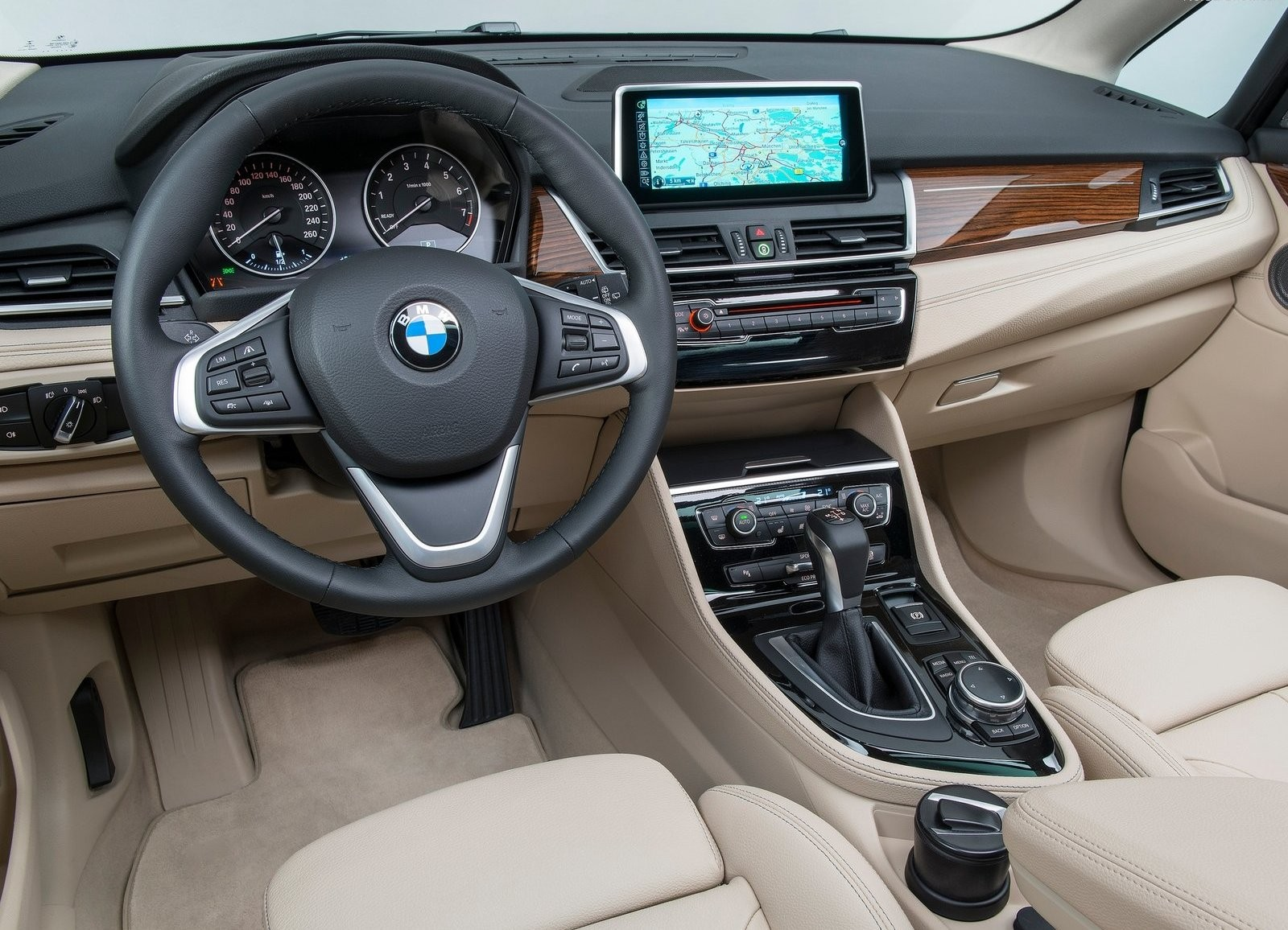 BMW 2 Series interior dash