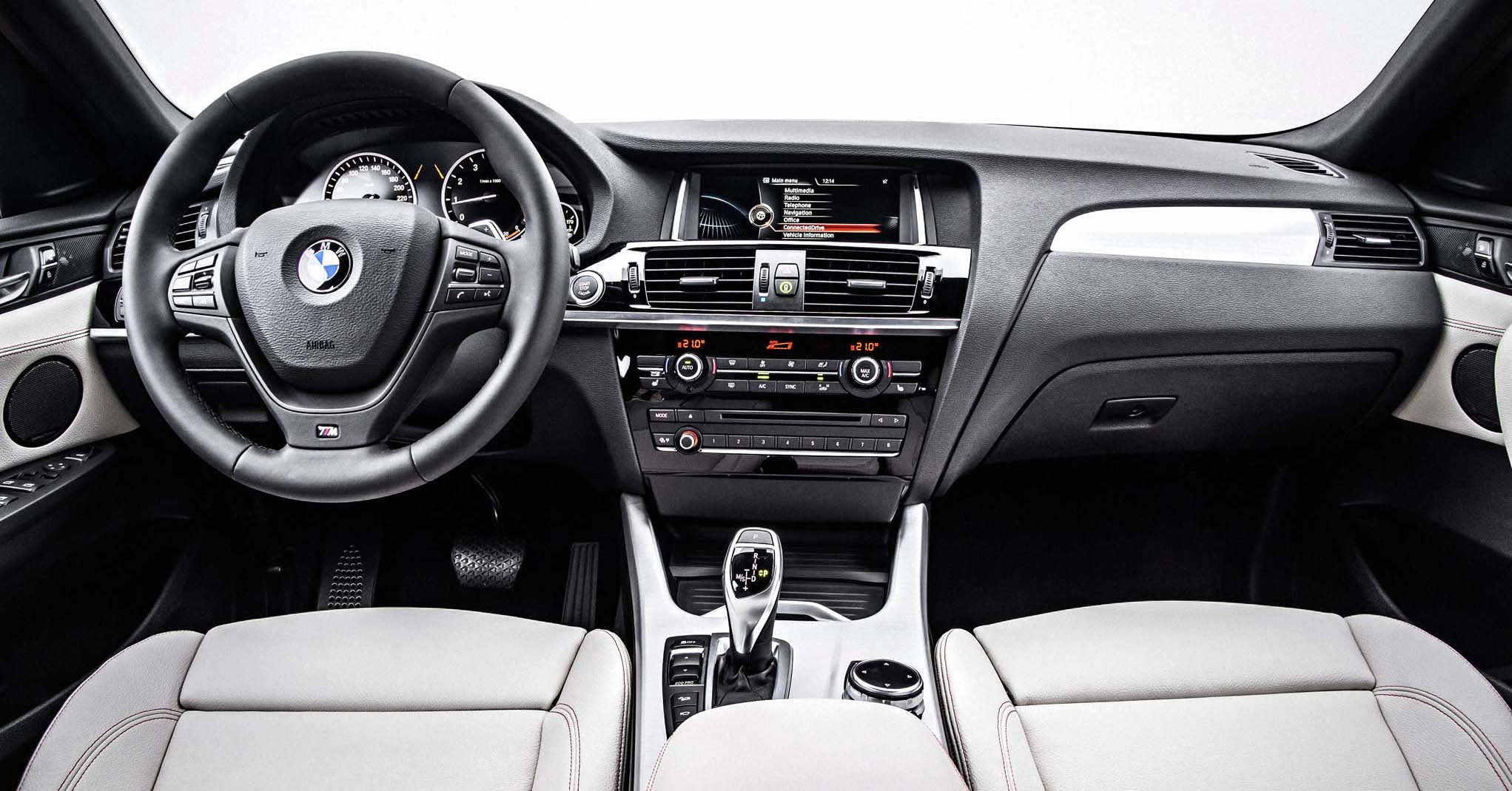 2015 BMW X4 - Interior