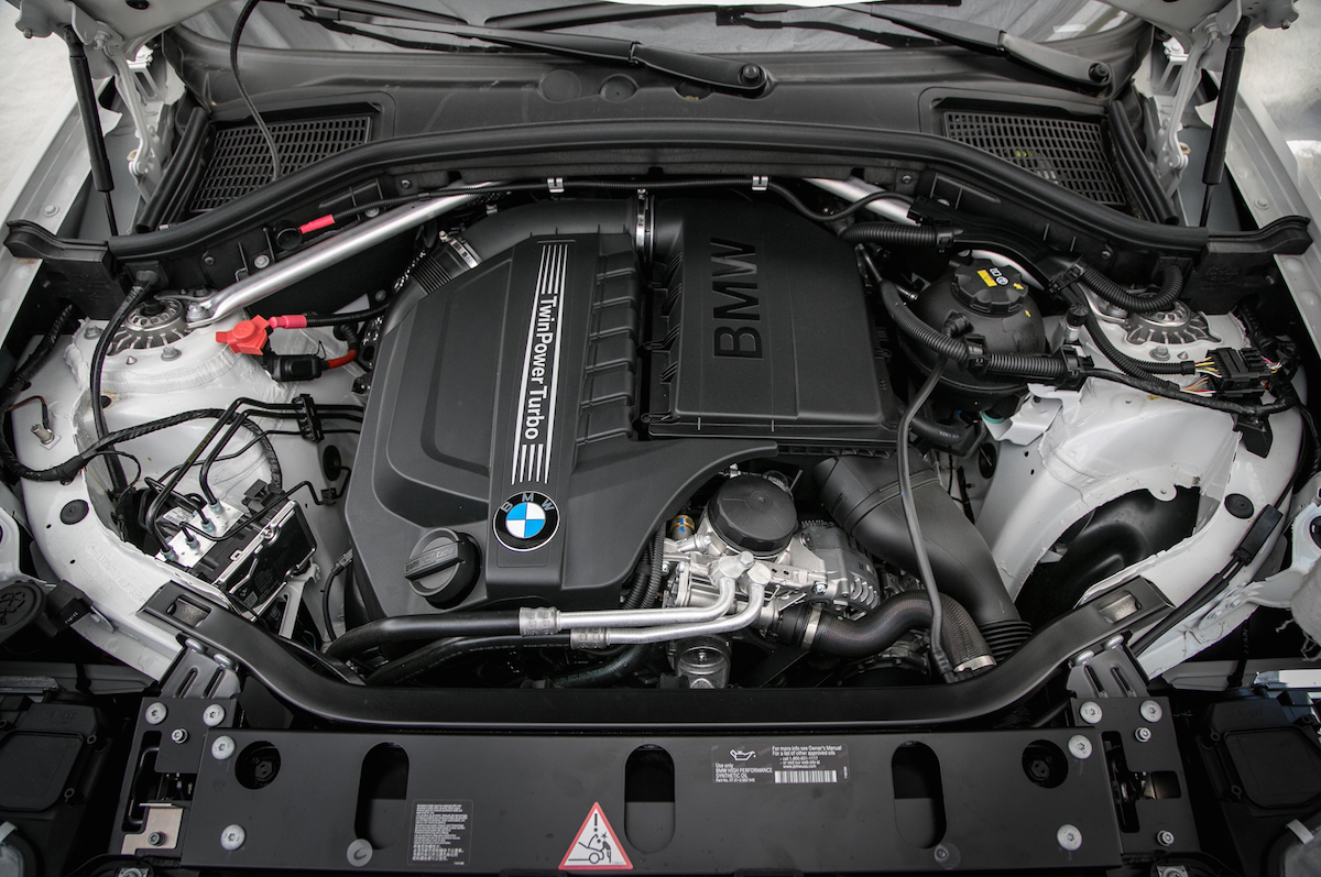 2015 BMW X4 - Engine