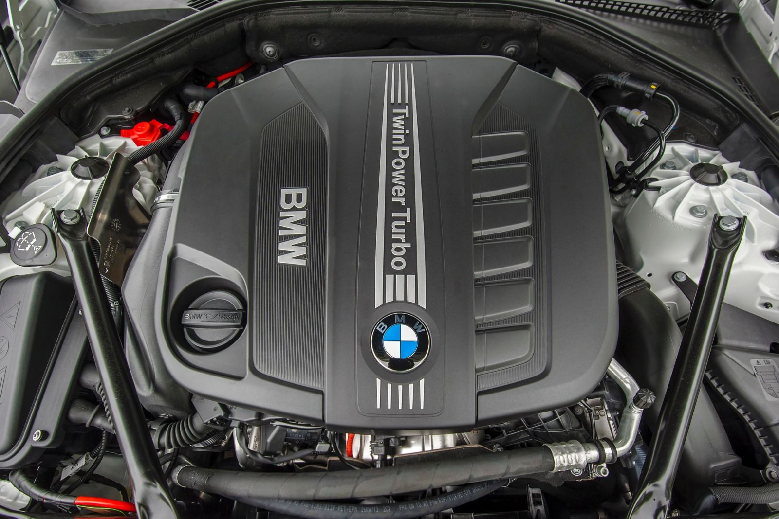 2015 BMW 5 Series - Engine