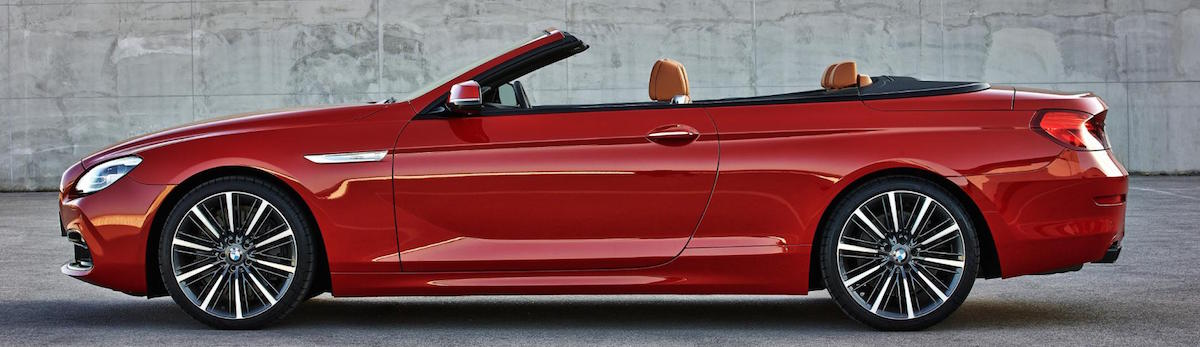 2015 BMW Series 6 - Convertible