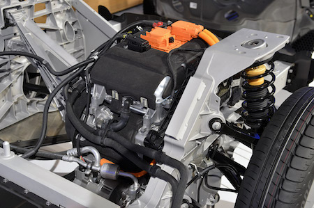 2015 BMW i3 Engine