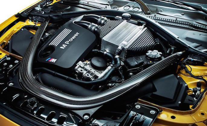 2015 BMW M4 Engine