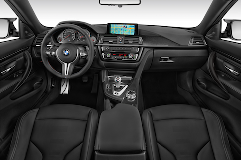 2015 BMW M4 interior