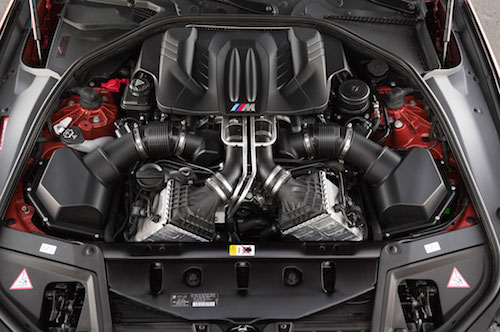 2015 BMW M5 Engine