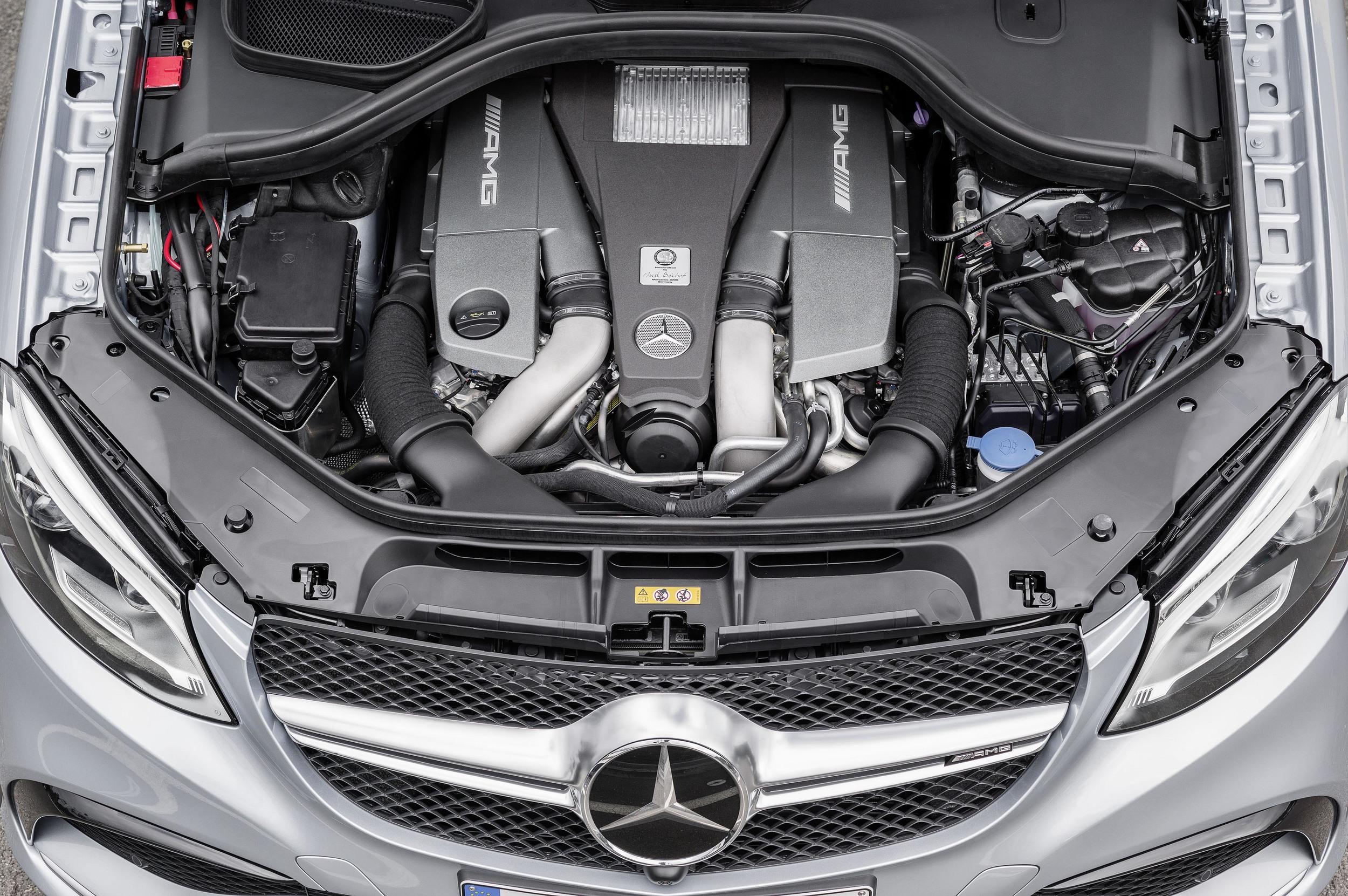 2016 Mercedes S Class - Engine