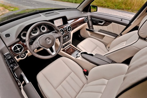 2015 Mercedes GLK - Interior