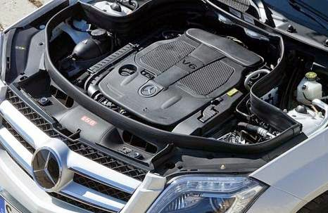 2015 Mercedes GLK - Engine