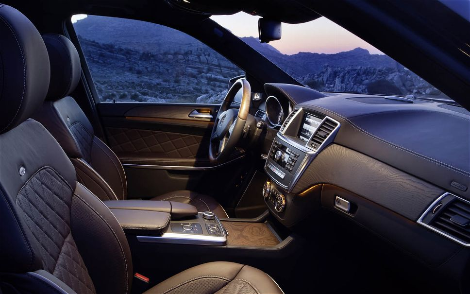 2015 Mercedes GL Class Interior