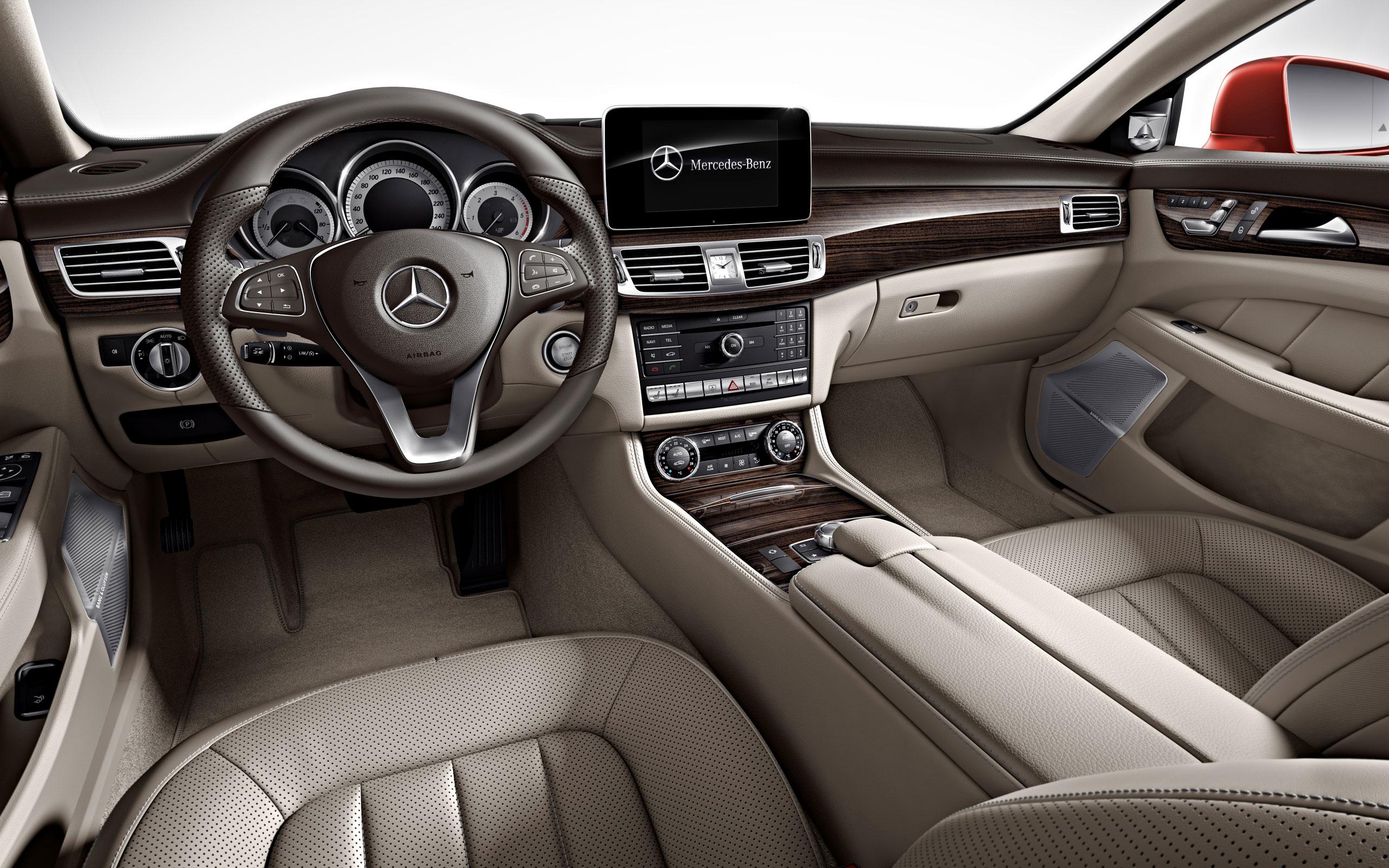 2016 Mercedes CLS Interior