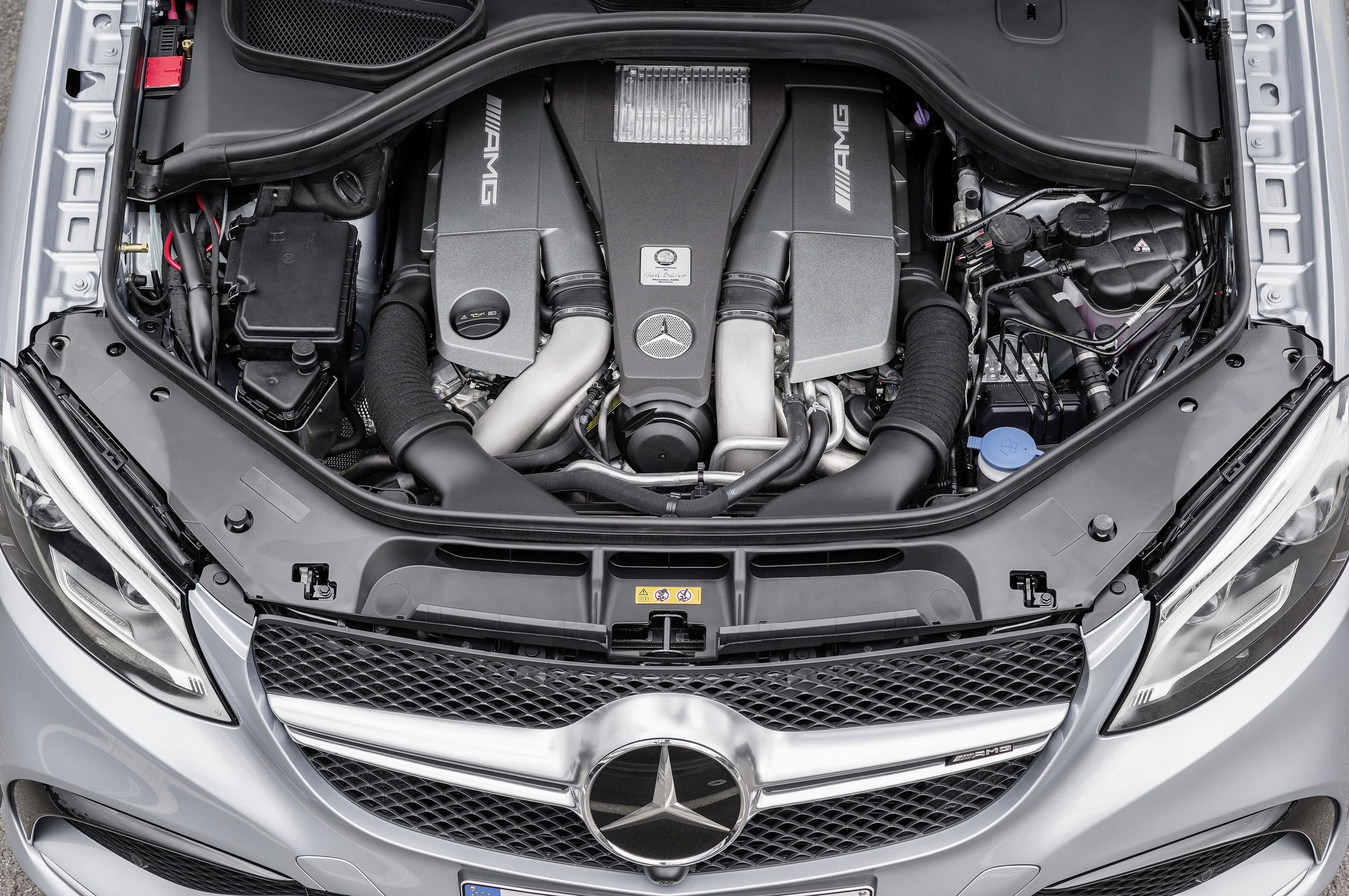 2016 Mercedes AMG Engine