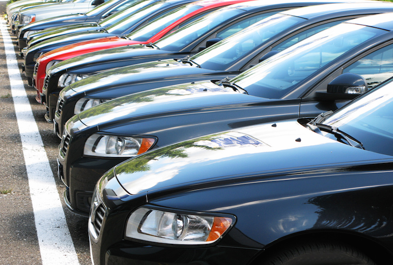 Cars in Lineup