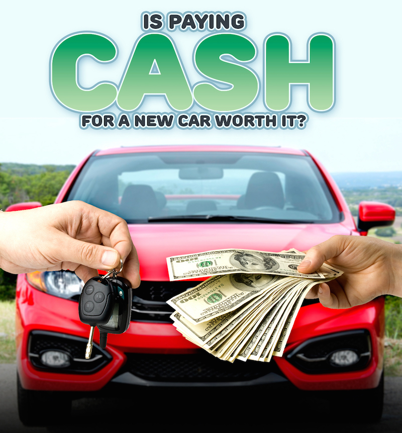 Paying Cash For A New Car