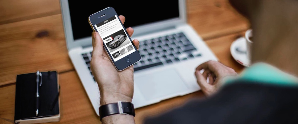 You can even shop for cars online from your phone.