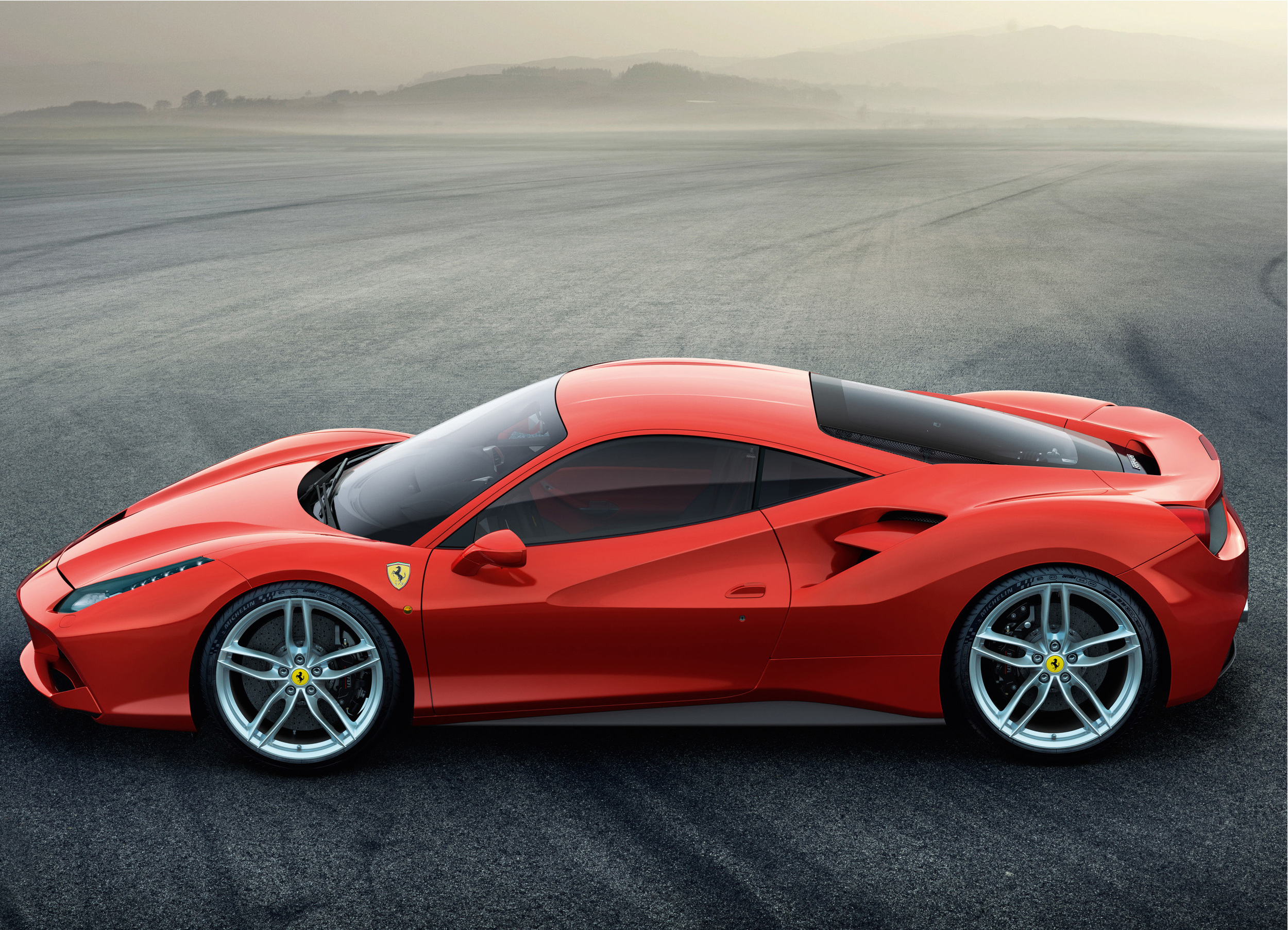 The Ferarri 488GTB