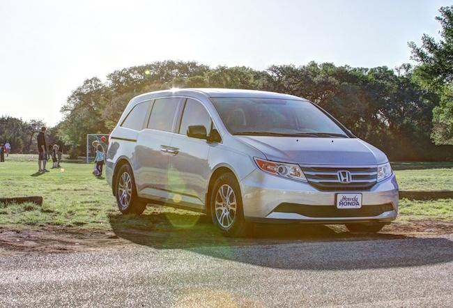 The 2011-2014 Honda Odyssey