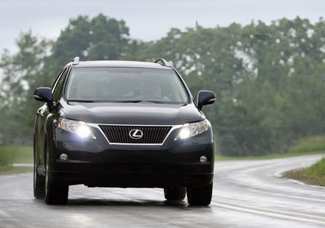 The Lexus RX