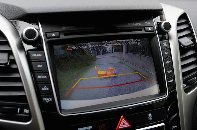 Backup Camera and Lane Departure Sensors