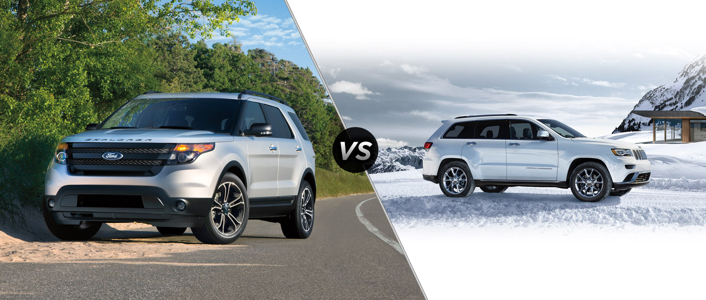 Grand Cherokee vs Explorer