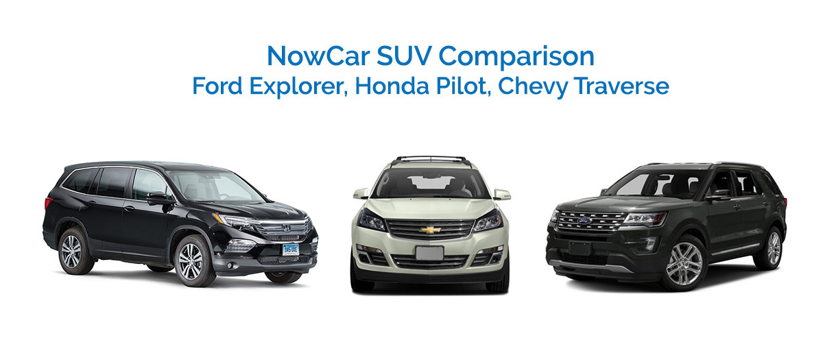 680 Credit Score >> NowCar | SUV Comparison: Chevy + Ford + Honda