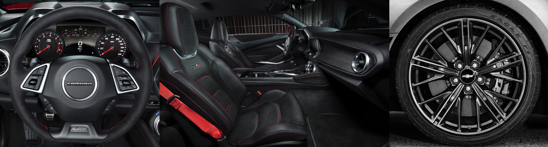 Chevy ZL1 interior