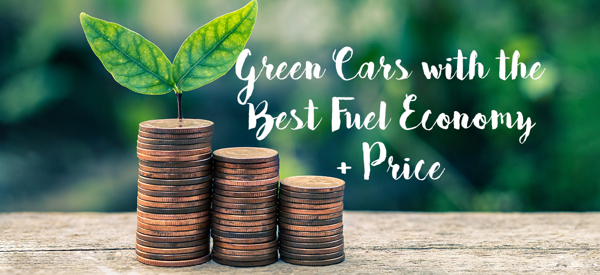 Green cars with best fuel economy by price