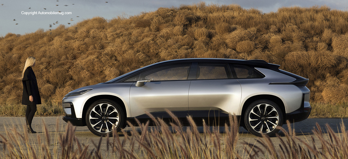 Faraday Future Unveils FF91 at 2017 CES
