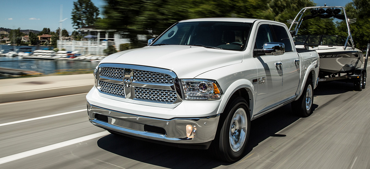 Ram trucks for towing jobs