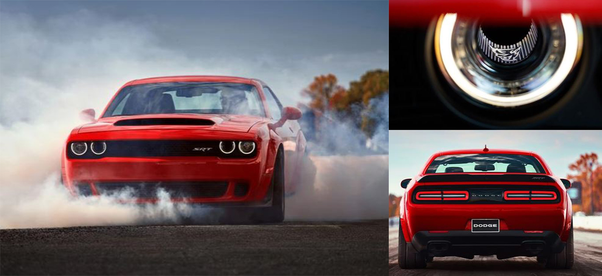 New Dodge Challenger SRT Demon breaks records