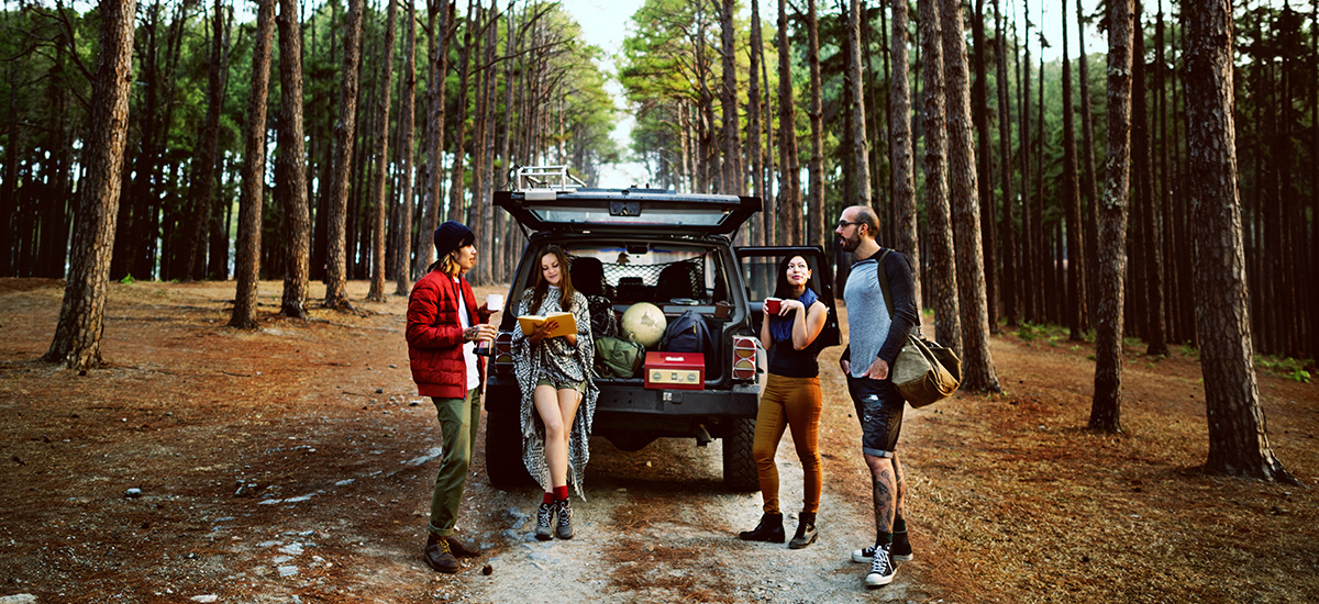 Car advice for camping and attending music festivals