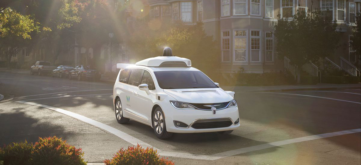NowCar Waymo Self-Driving Chrysler Pacifica Hybrid