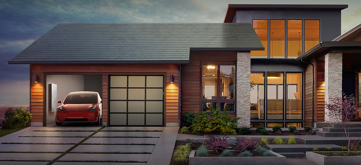 Tesla expands past car and aero industries with new Solar Roof tiles
