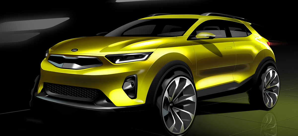 NowCar Kia Stonic Sketch Feature