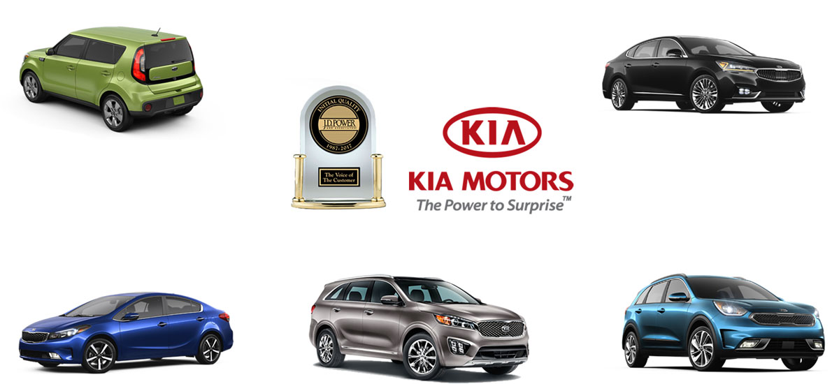NowCar JD Power Initial Quality Kia