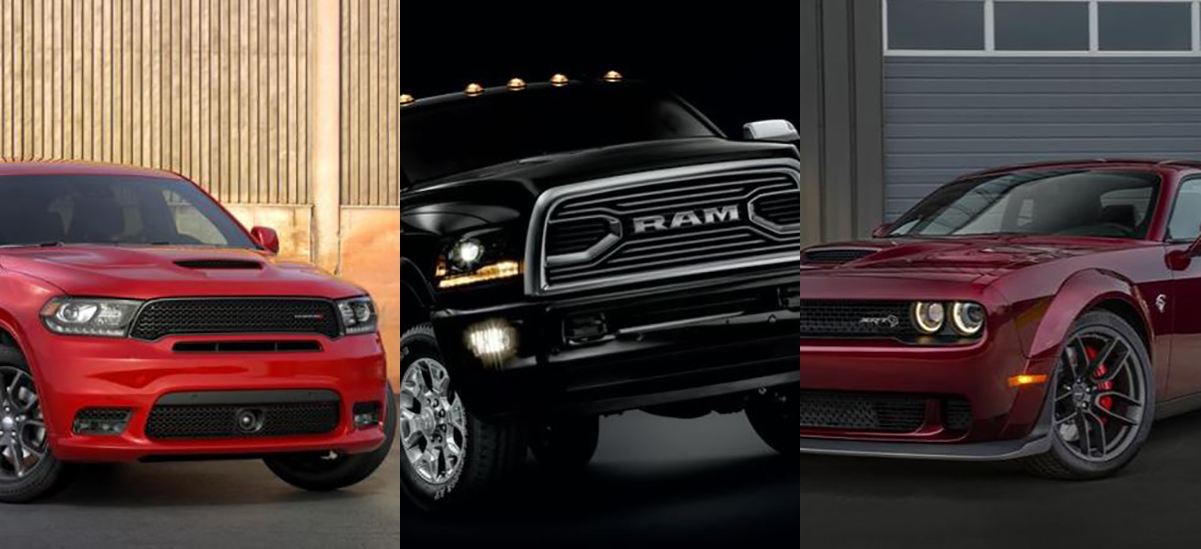 Dodge Adds SRT and Ram Adds New Luxury Trim
