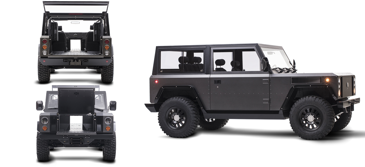NowCar Bollinger Motors Electric Off-road Truck