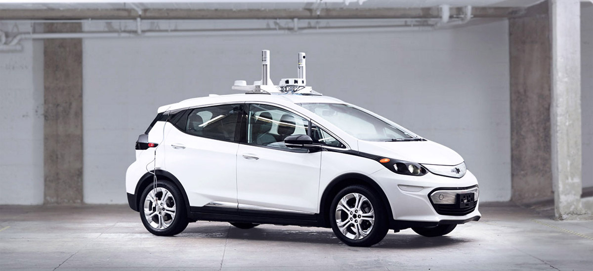 NowCar Self-Driving Chevy Bolt EV