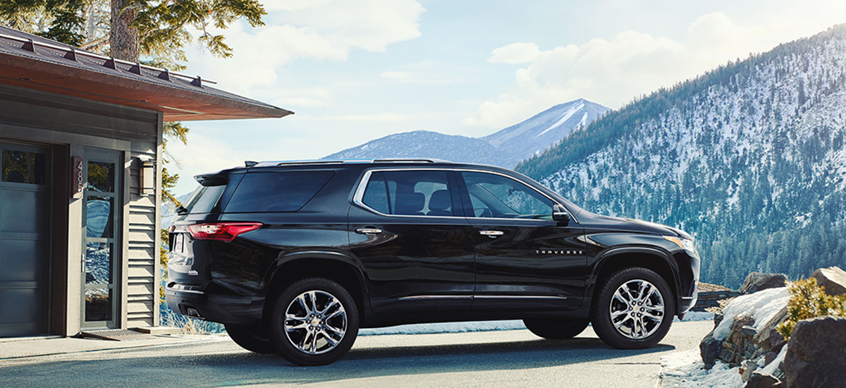 NowCar Chevrolet 2018 Traverse Cargo Space Holidays