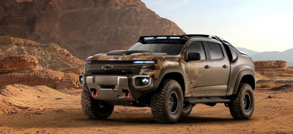 NowCar Chevrolet Colorado ZH2 Army Testing