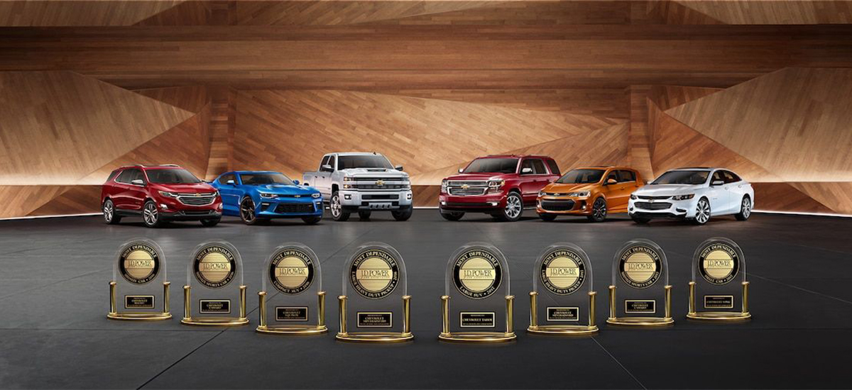 NowCar Chevrolet J.D. Power Awards
