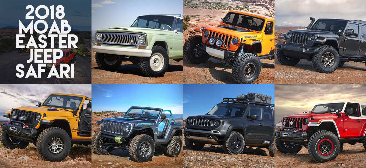 7 Jeep Concepts at Moab Easter Jeep Safari
