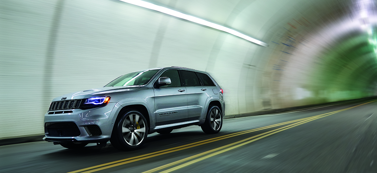 Jeep Grand Cherokee Trackhawk and Dodge Durango SRT are powerful SUVs