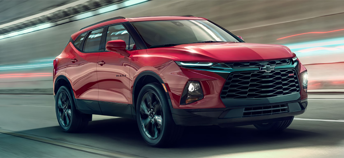 NowCar 2019 Chevrolet Blazer: Then Now