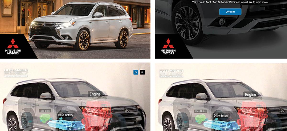 NowCar Mitsubishi Augmented Reality App