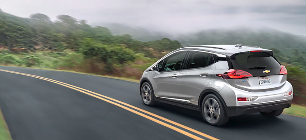 NowCar 2019 Chevy Bolt EV Comparison